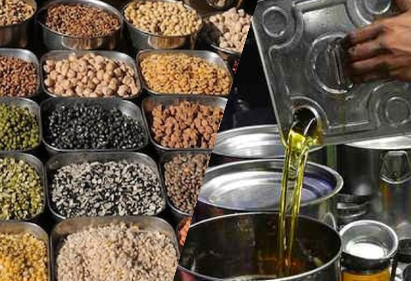 Inflation in edible oil, pulses and rice has broken the backbone of the common man