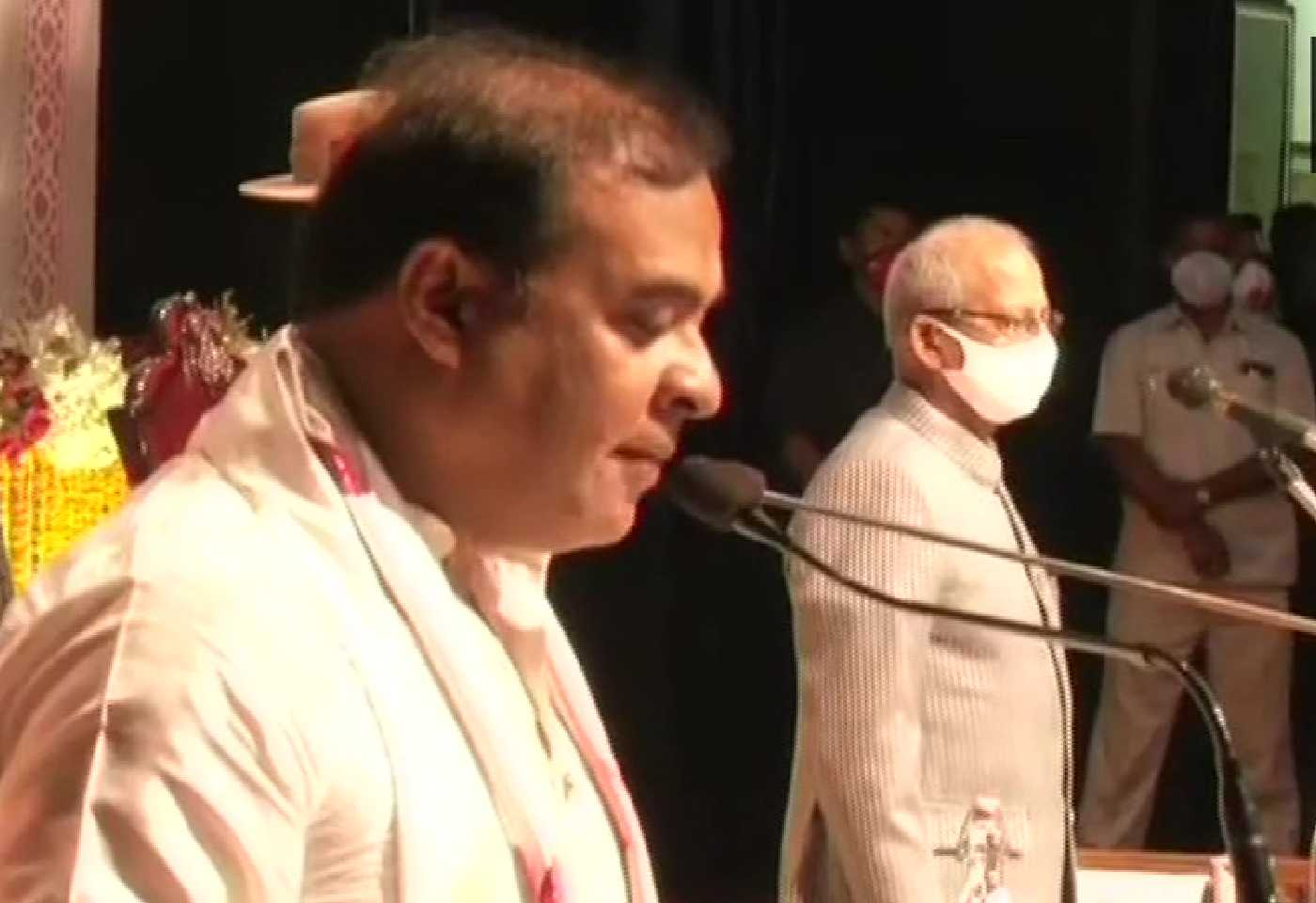 Himanta Biswa Sarma takes oath as the Chief Minister of Assam