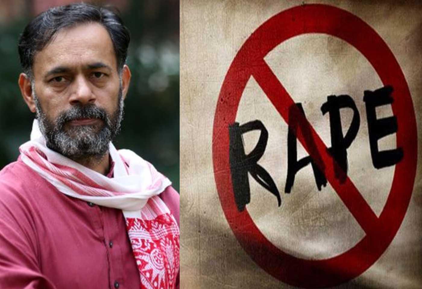 Yogendra Yadav Remains Silent On Gang Rape At Tikari Border Farmers Protest, NCW Isuues Notice, Demands Probe