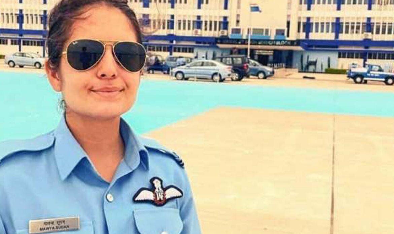 गौरवास्पद : जम्मू काश्मीरची पहिली 'फायटर पायलट' माव्या सूदन हवाई दलात रुजू ; माझी लेक देशाची मुलगी बनली : माव्याच्या वडिलांची प्रतिक्रिया