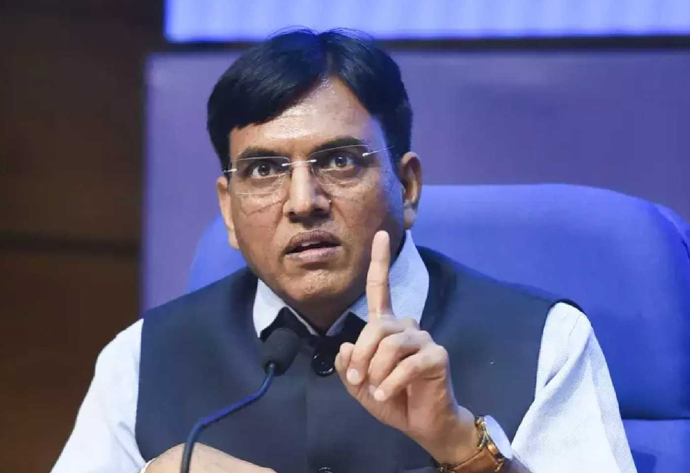 Free Vaccine For Everyone In 24 Days The Figure Reached 30 To 40 Crores, Minister Mandaviya Tweeted