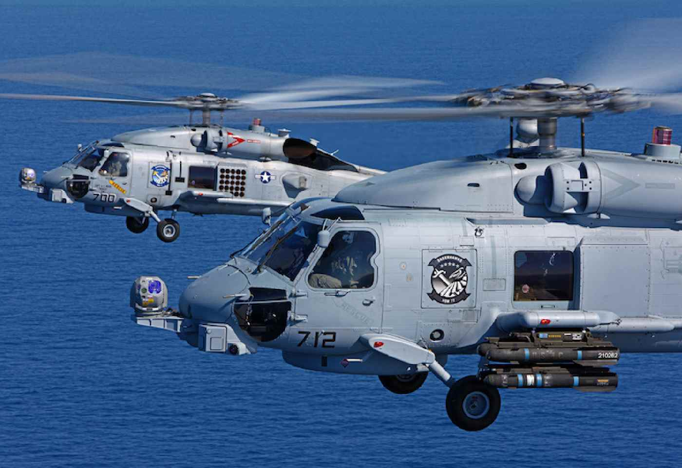 US Navy hands over MH 60R helicopters to India in Presence of Taranjit Singh Sandhu