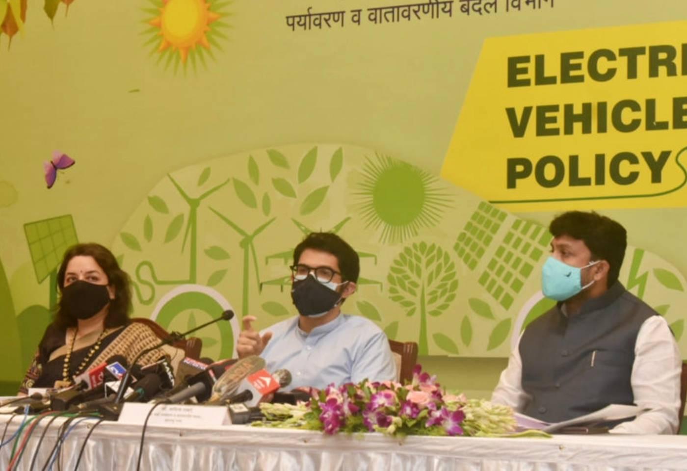Maha Electric Vehicle Policy 2021 by MVA Govt Aditya Thackeray