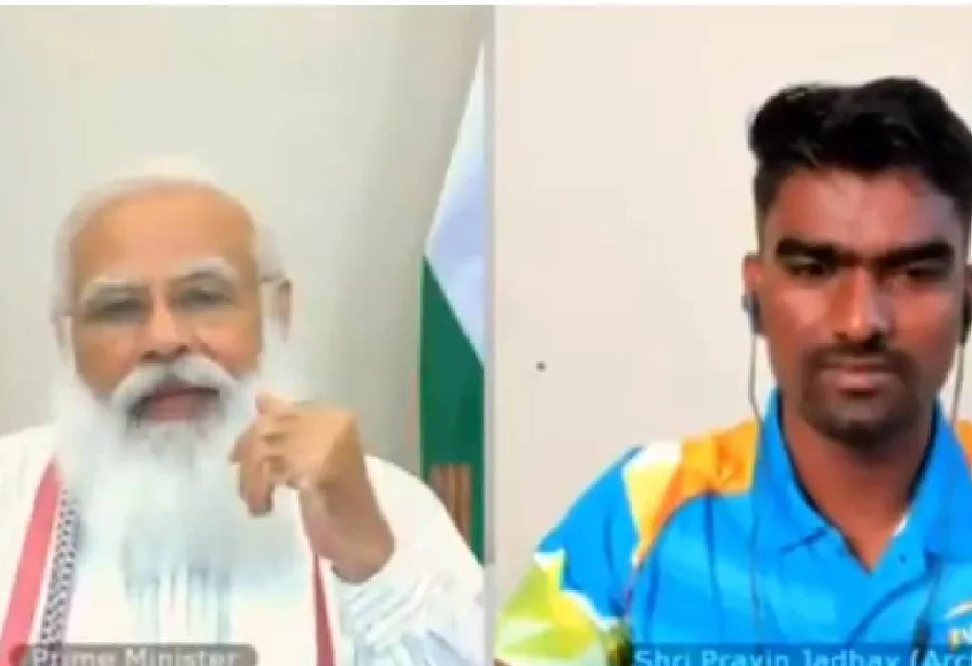 PM Modi Interaction With olympic game players archery pravin jadhav shares his story to pm modi