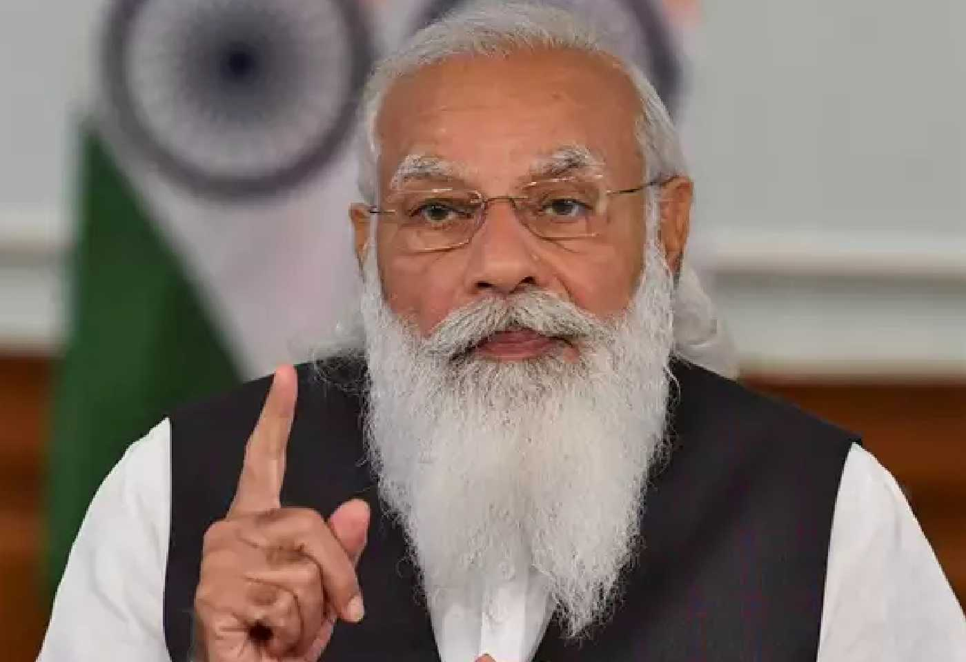 PM Modi praised Yogi government in front of CMs of 6 states, said - UP government adopted 3T model to protect against corona