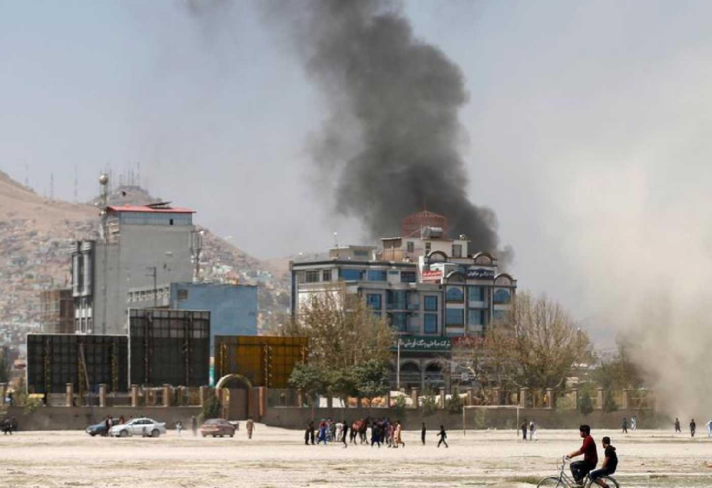 Afghanistan Taliban fires Rockets Near Presidential Palace In Kabul During Eid Prayers