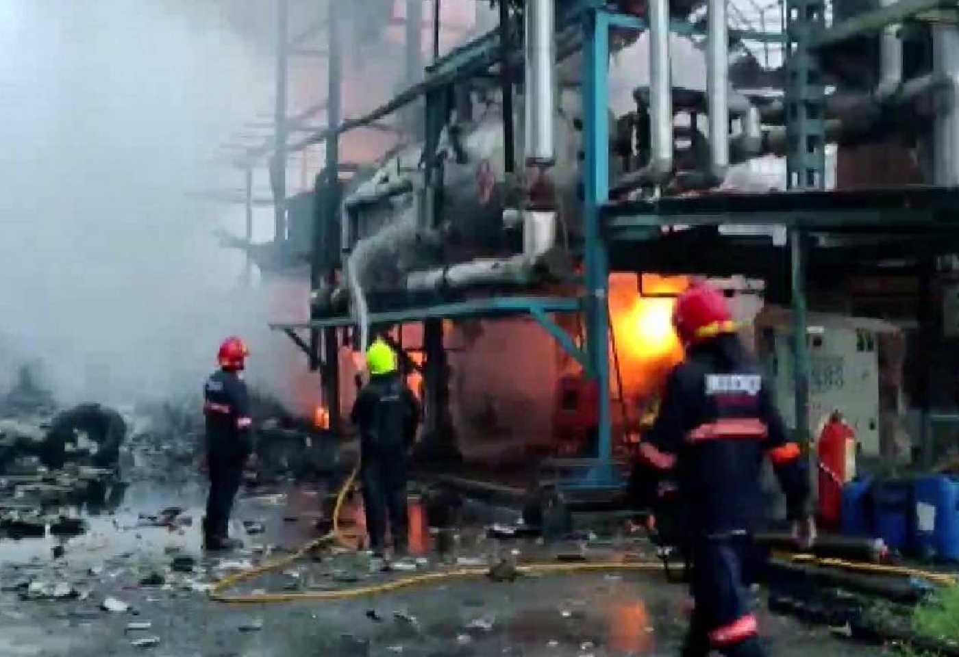 Explosion in textile factory of Palghars Tarapur, one worker died due to boiler explosion; four injured