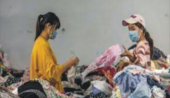 विज्ञानाचे डेस्टीनेशन्स : अबब, कपड्यांचा कटरा टनात
