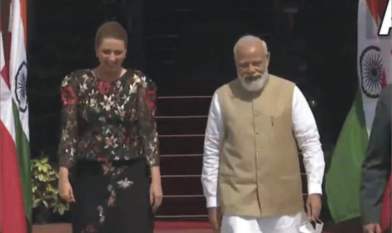 पंतप्रधान नरेंद्र मोदी जगातील इतर नेत्यांसाठी प्रेरणास्त्रोत्र, डेन्मार्कच्या पंतप्रधानांनी केले कौतुक