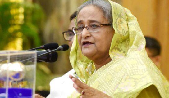 मंदिर-मंडपांवर हल्ल्यातील सहभागींना सोडले जाणार नाही, बांग्लादेशच्या पंतप्रधान शेख हसीना यांचे प्रतिपादन