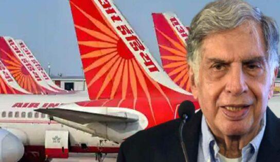 एअर इंडिया ६८ वर्षांनंतर पुन्हा टाटांची : रतन टाटा म्हणाले 'वेलकम बॅक', तब्बल १८ हजार कोटींमध्ये झाला करार