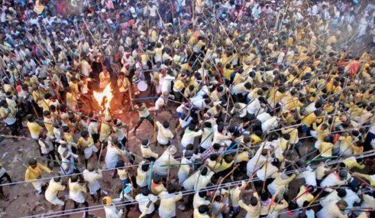 आंध्र प्रदेशात दसऱ्याच्या दिवशी बन्नी उत्सवाला हिंसक वळण; 70 जखमी, 4 जणांची प्रकृती गंभीर